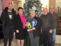 Les organisateurs du tournoide boxe de Noël