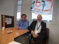 Christophe Manceau, délégué CFDT à STX Solutions et Daniel Bahuaud, responsable ressources humaines