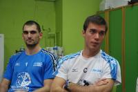 Gilles Gosselin, l'entraîneur (à droite) reste au SNVBA. Pour Yordanov (à gauche), rien n'est fait