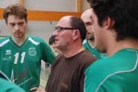 Franck Rabas, l'entraîneur, a connu meilleur départ avec ses joueurs