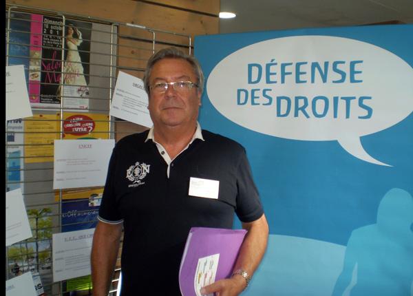 Forum bénévolat : le president Jean Luc Guyodole