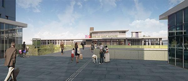 Projet Ville Gare Saint Nazaire