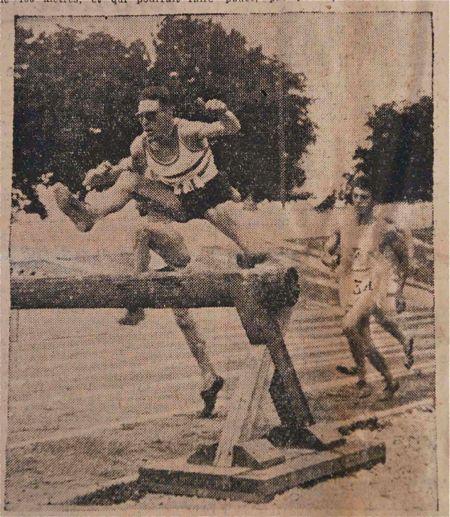 Alex Guyodo était le leader du 3000 m steeple français après la guerre