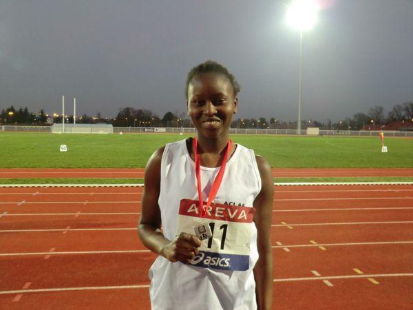 Evelina Mendes peut être fière de sa médaille