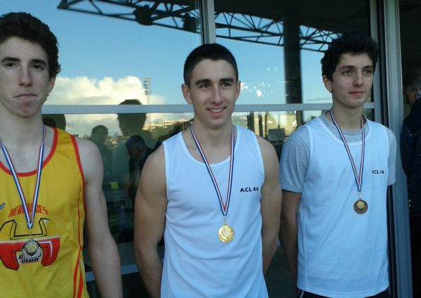 Romain Minaud et Gwendal Guérin ont rapporté deux médailles à l'ACL 44
