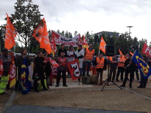 Les syndicats du centre hospitalier appellent à la grève le 15 mai à Nantes