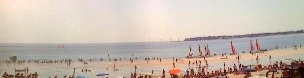 Le futur parc éolien à peine visible de Pornichet