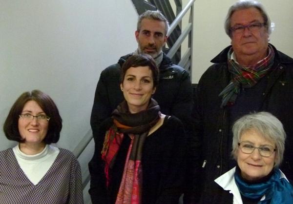 Emanuelle Trichet,Claire Dupont,Christian Da Silsva, Jean-Luc Guyodo, Odile Quintin