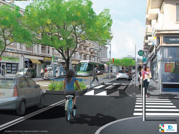Dès 2012, les automobilistes cohabiteront avec le bus rapide avenue de la République.
