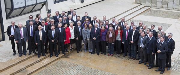 La nouvelle assemblée. Photos Paul Pascal, conseil général de Loire-Atlantique.