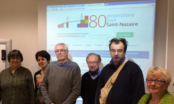 Anna Danto,Jeanne Ader, Guy Danto, Pierre Gilbert, Didier Chatelais, Danièle Gilet.