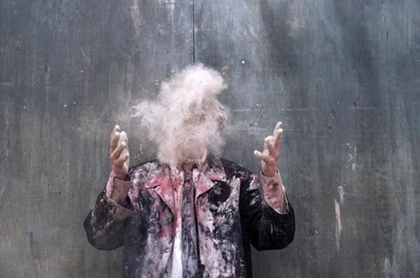 CORPS-TEXTES, pièce pour 6 danseurs, création Olivier de Sagazan pour 2020 En collaboration avec : Alexandre Fandard, Leïla Ka, Eléonore Melchio, Shirley Niclais et Stéphanie Sant