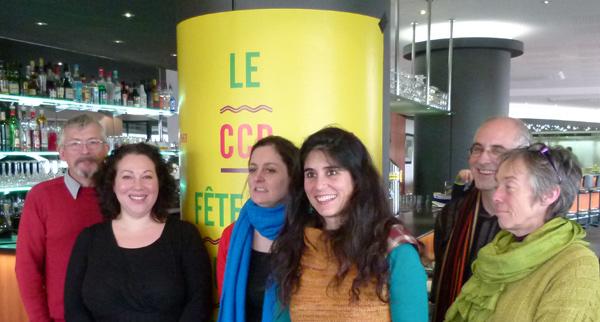 Jean Claude Rabeau, Maryline Servain, Sandrine Floc'h, Anne Tessier, Serge Le Glannec, et Chantal Chaumarel.