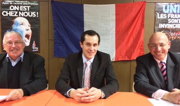 Jean Claude Blanchard tête de liste à Saint-Nazaire, Nicolas Bay, Christian Bouchet tête de liste à Nantes