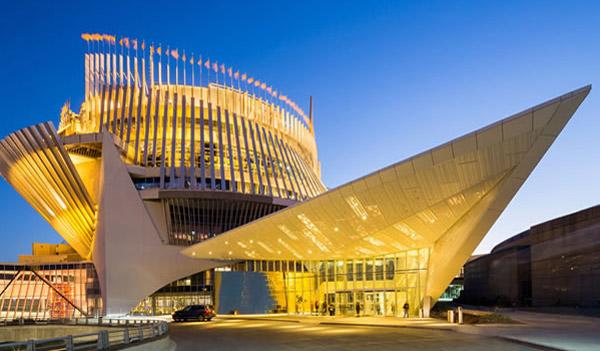 Le Casino de Montréal, appartenant à la société d'État Loto-Québec, un fleuron des casinos canadiens