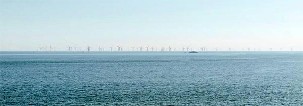 Parc éolien Saint-Nazaire simulation de la pointe de Chemoulin