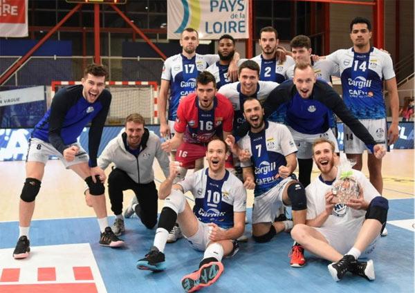 Le SNVBA après sa victoire contre Saint-Quentin