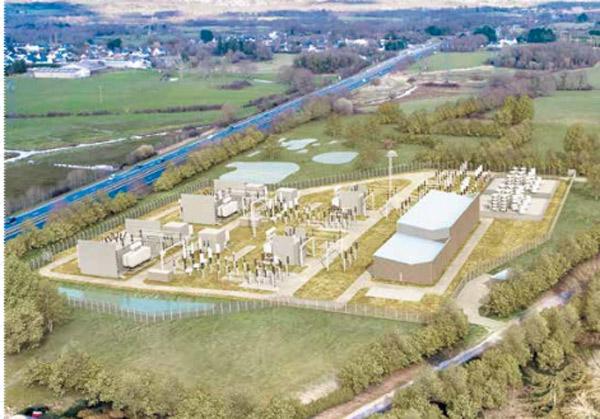 Centrale électrique Prinquiau