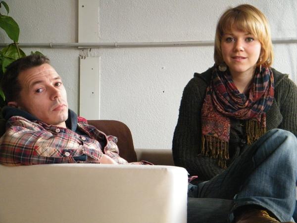 Laurent Duflanc et Manon forment un duo.