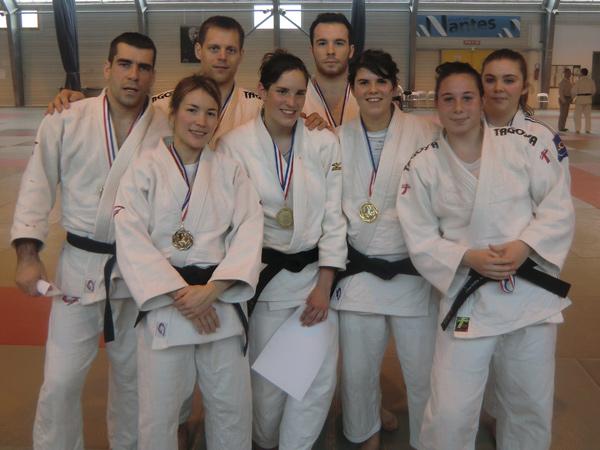 Les médaillés nazairiens.