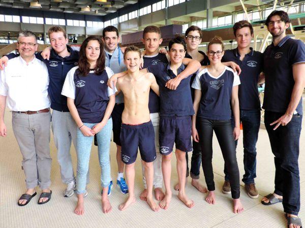 Les nageurs nazairiens se sont distingués à Rennes