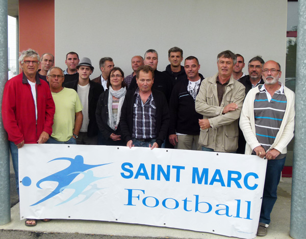 Les dirigeants de Saint-Marc football