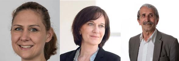 Cécilia Gondard, secrétaire nationale du PS, Laurence Rossignol, sénatrice PS et ancienne ministre, Michel Debout, membre de la direction nationale du PS