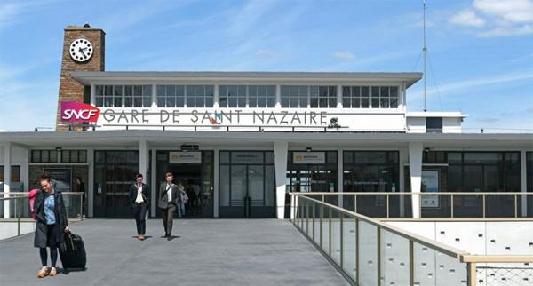 La gare de Saint-Nazaire