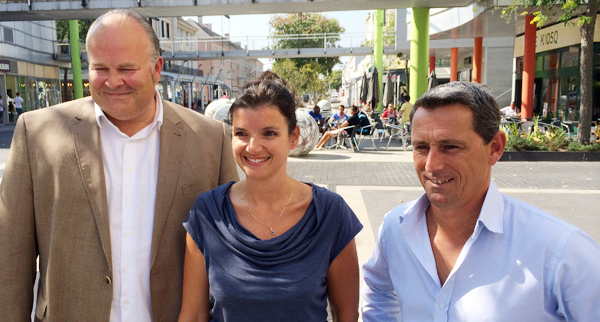 William Duval, Sandra Vandeuren, Pierre-Yves Vincent