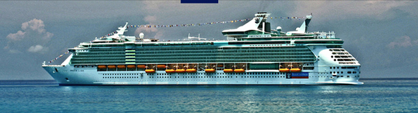 Un des navires Royal Caribbean International
