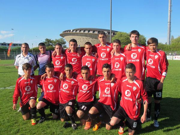 Les U17 de l'AC Saint-Brevin