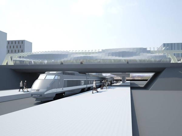 Pour accueillir le futur bus rapide, le pont de la Matte, qui relie Trignac au centre-ville de Saint-Nazaire, va devoir faire peau neuve. Des travaux sont prévus de mai à juillet 2012.