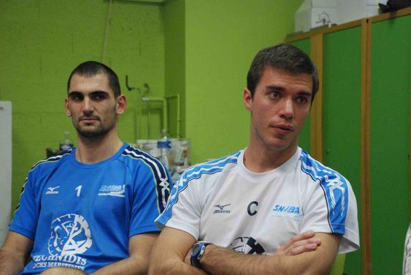 Gilles Gosselin avec, à sa droite, Zlatan Yordanov