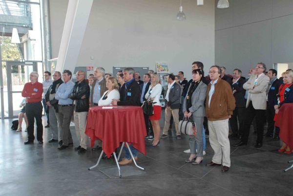 De très nombreux partenaires attentifs à la lecture du projet du club