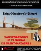 Le tribunal de Saint-Nazaire est menacé de disparition, une pétition est ouverte pour son maintien.