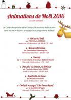 Les animations de Noël du centre hospitalier de Saint-Nazaire