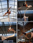 Les rencontres de danse aérienne à Saint-Nazaire