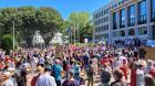 Manifestationantipass :1200 personnes à Saint-Nazaire le 28 août