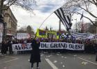 Réforme de la justice: Les avocats du Grand-Ouest manifestent à Paris