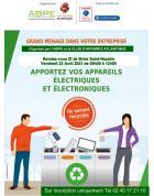 Saint-Nazaire: Opération « Récupération des déchets électriques et électroniques