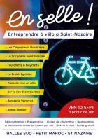 Saint-Nazaire : un collectif pour entreprendre à vélo « en selle ! »