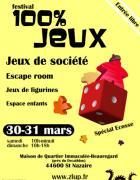 SAINT-NAZAIRE FESTIVAL : 100 % JEUX avec L'association Z.L.U.P