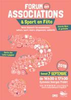 Trignac : le Forum des Associations et Sport en Fête  aura lieu samedi 7 septembre