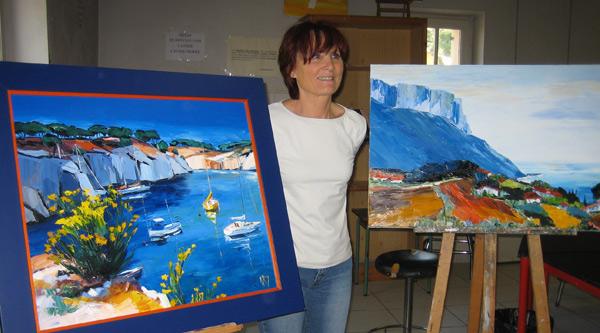 Top Nicole Roy artiste peintre de la Bretagne et de la Provence FY01