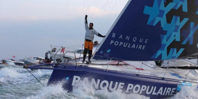 Alex Thomson termine à la seconde place — Vendée Globe