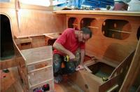 La construction du bateau
