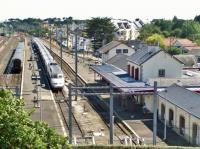 Les traveaux à la gare du croisic permettront une meilleure accessibilité aux personnes à mobilité réduite.