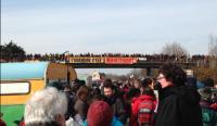 la manifestation des anti-aéroport