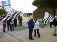 Les manifestants de Bretagne Réunie