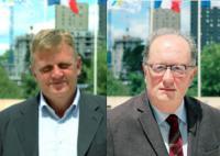 Pascal NICOT  Conseiller régional des Pays de la Loire pour la Sarthe,                                      Pascal GANNAT   Conseiller régional des Pays de la Loire